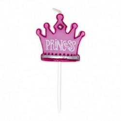 Candela Corona Princess 9 cm