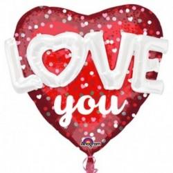Pallone Jumbo Love 90 cm