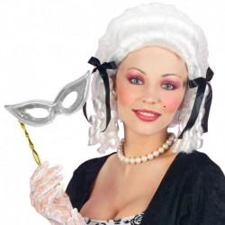 Maschera Plastica Domino Bacchetta