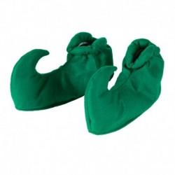 Copriscarpe Elfo Tessuto Verde