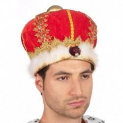 Corona Reale Velluto Rosso