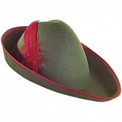 Cappello Piuma Rossa