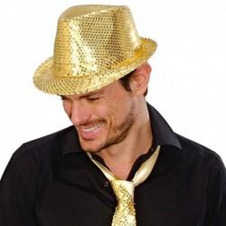 Cappello Borsalino Paillettes Oro