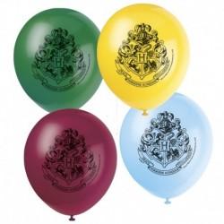 8 Palloncini Lattice Harry Potter 24 cm