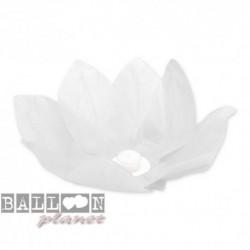 Fiore Galleggiante Bianco 28 cm