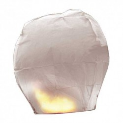 Lanterna Volante Bianca 70x100 cm
