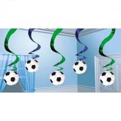 5 Pendenti Calcio