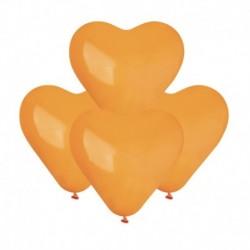 Palloncini Cuore Arancio 15 cm