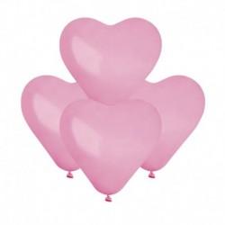 Palloncini Cuore Rosa 15 cm