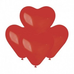 Palloncini Cuore Rossi 15 cm