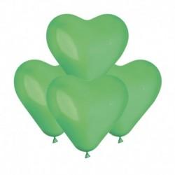 Palloncini Cuore Verde Prato 15 cm