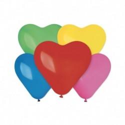 Palloncini Cuore Assortiti 15 cm