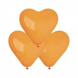 Palloncini Cuore Arancio 25 cm
