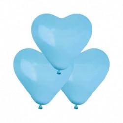 Palloncini Cuore Azzurri 25 cm