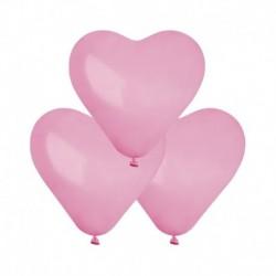 Palloncini Cuore Rosa 25 cm