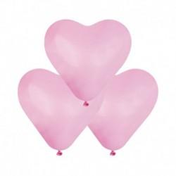 Palloncini Cuore Rose 25 cm