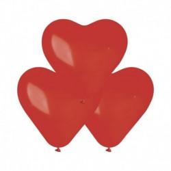 Palloncini Cuore Rossi 25 cm