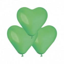 Palloncini Cuore Verde Prato 25 cm