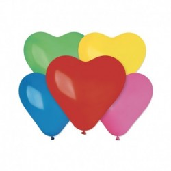 Palloncini Cuore Assortiti 25 cm
