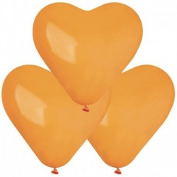 Palloncini Cuore Arancio 40 cm