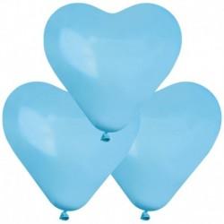 Palloncini Cuore Azzurri 40 cm