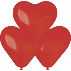 Palloncini Cuore Rossi 40 cm