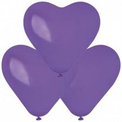 Palloncini Cuore Viola 40 cm