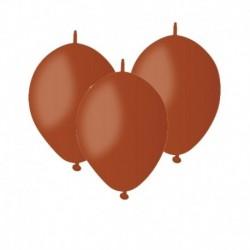 Palloncini Linking Marroni 12 cm