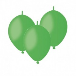 Palloncini Linking Verde Prato 12 cm