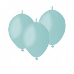 Palloncini Linking Verde Tiffany 12 cm