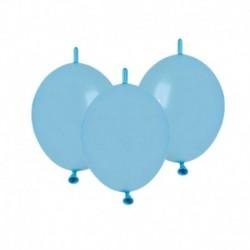 Palloncini Metallic Link Azzurri 12 cm