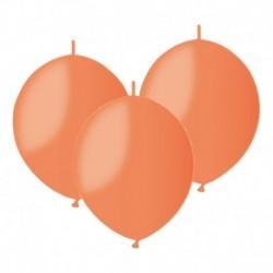 Palloncini Linking Arancione 30 cm