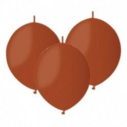 Palloncini Linking Marrone 30 cm