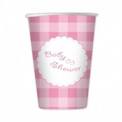 10 Bicchieri Carta Baby Shower 200 ml