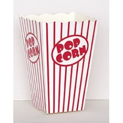 10 Contenitori Popcorn 15x12x7 cm