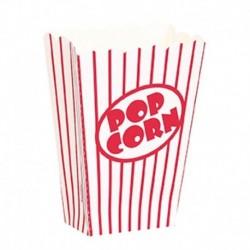 8 Contenitori Popcorn 13x10x6 cm