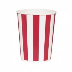 4 Bicchieri Giganti Popcorn 15x10 cm