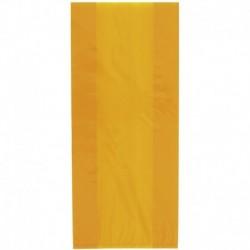 30 Sacchetti Caramelle Gialli 13x29 cm