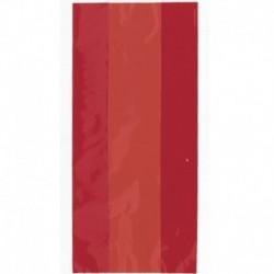 30 Sacchetti Caramelle Rossi 13x29 cm