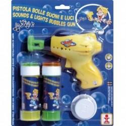 Pistola Bolle con Ricarica