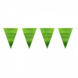 Festone Bandierine Verde Metal 6 mt