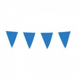 Festone Bandierine Blu Navy 10 mt