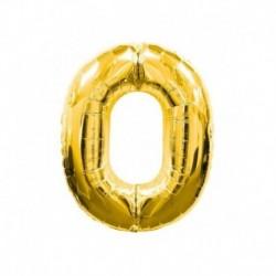 Pallone Numero 0 Oro 40 cm