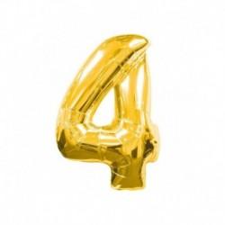 Pallone Numero 4 Oro 40 cm