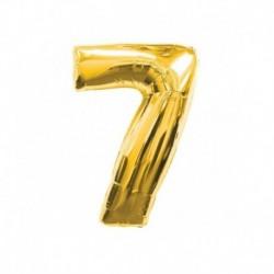 Pallone Numero 7 Oro 40 cm