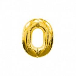 Pallone Numero 0 Oro 20 cm