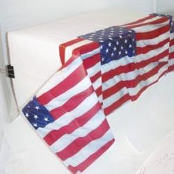 Tovaglia Plastica USA 137x259 cm