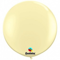Pallone Qualatex Ivory Silk 80 cm