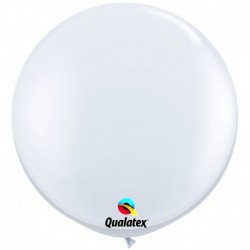 Pallone Qualatex White 80 cm