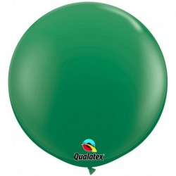 Pallone Qualatex Green 80 cm